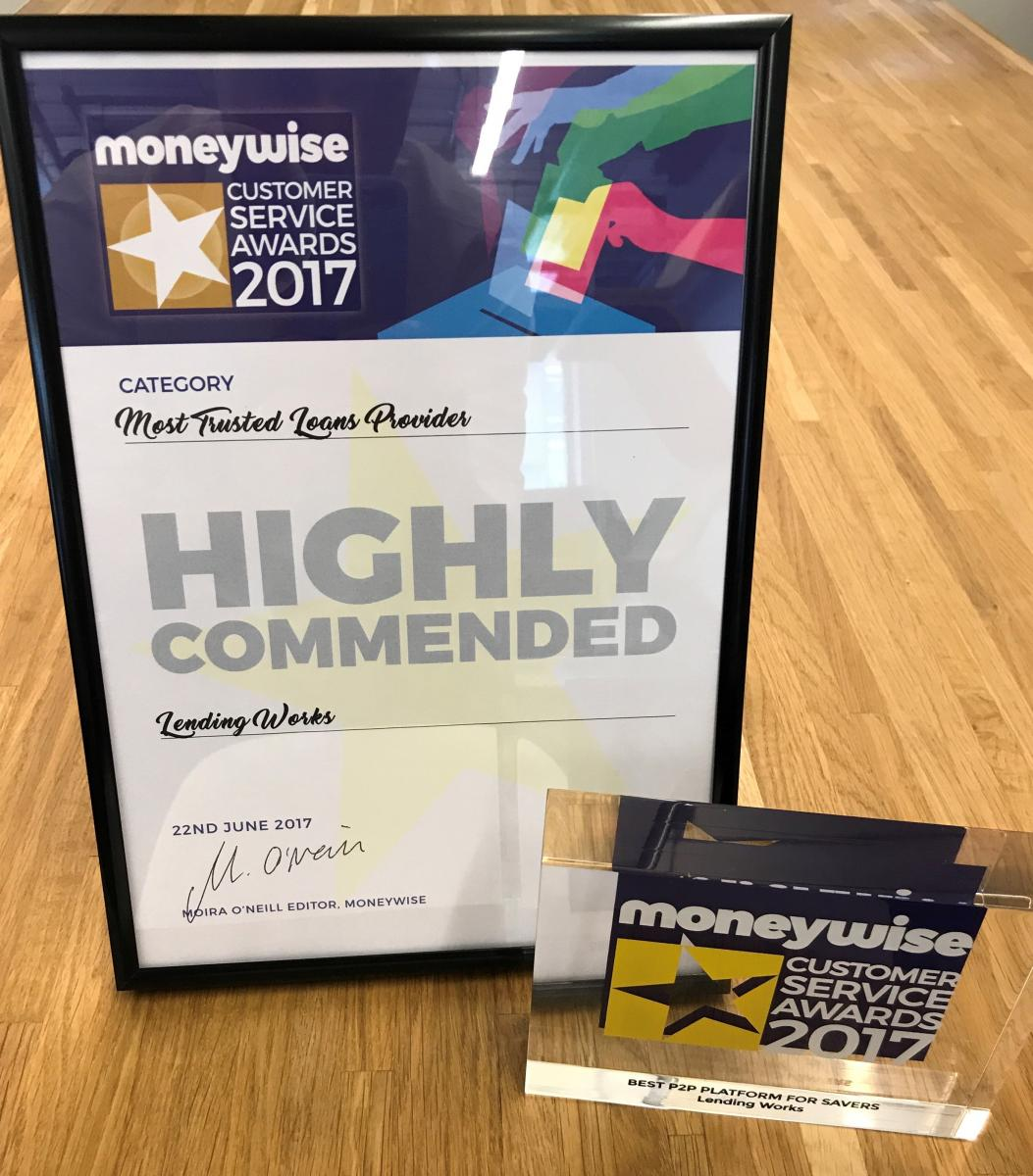 Our haul from the Moneywise Customer Service Awards