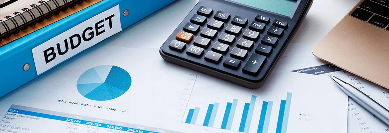 Budget Calculator, Folders & Graphs