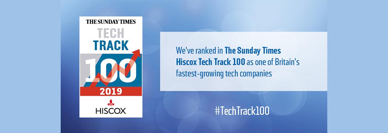 Sunday Times Hiscox Tech Track 100