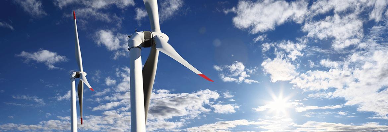 Wind Turbine In The Sunshine - Lending Works