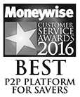 Moneywise Award Best P2P Platform for Savers - Lending Works