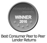 Moneynet Award Best Consumer Peer to Peer Platform - Lending Works